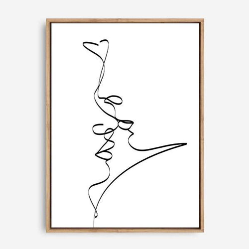 KISS ME CANVAS