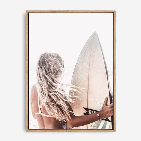 SURFER CHIC CANVAS