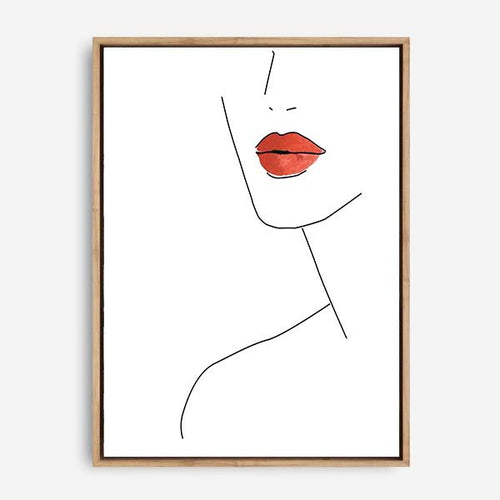 THESE LIPS CANVAS