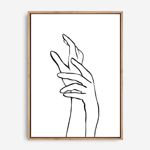 HANDS CANVAS