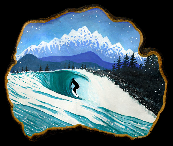 WEST COAST WINTER (STICKERS)