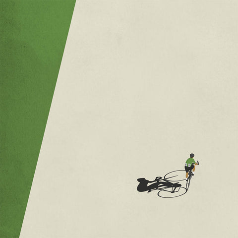 Tour de France Cycling Art Convicts of the Road