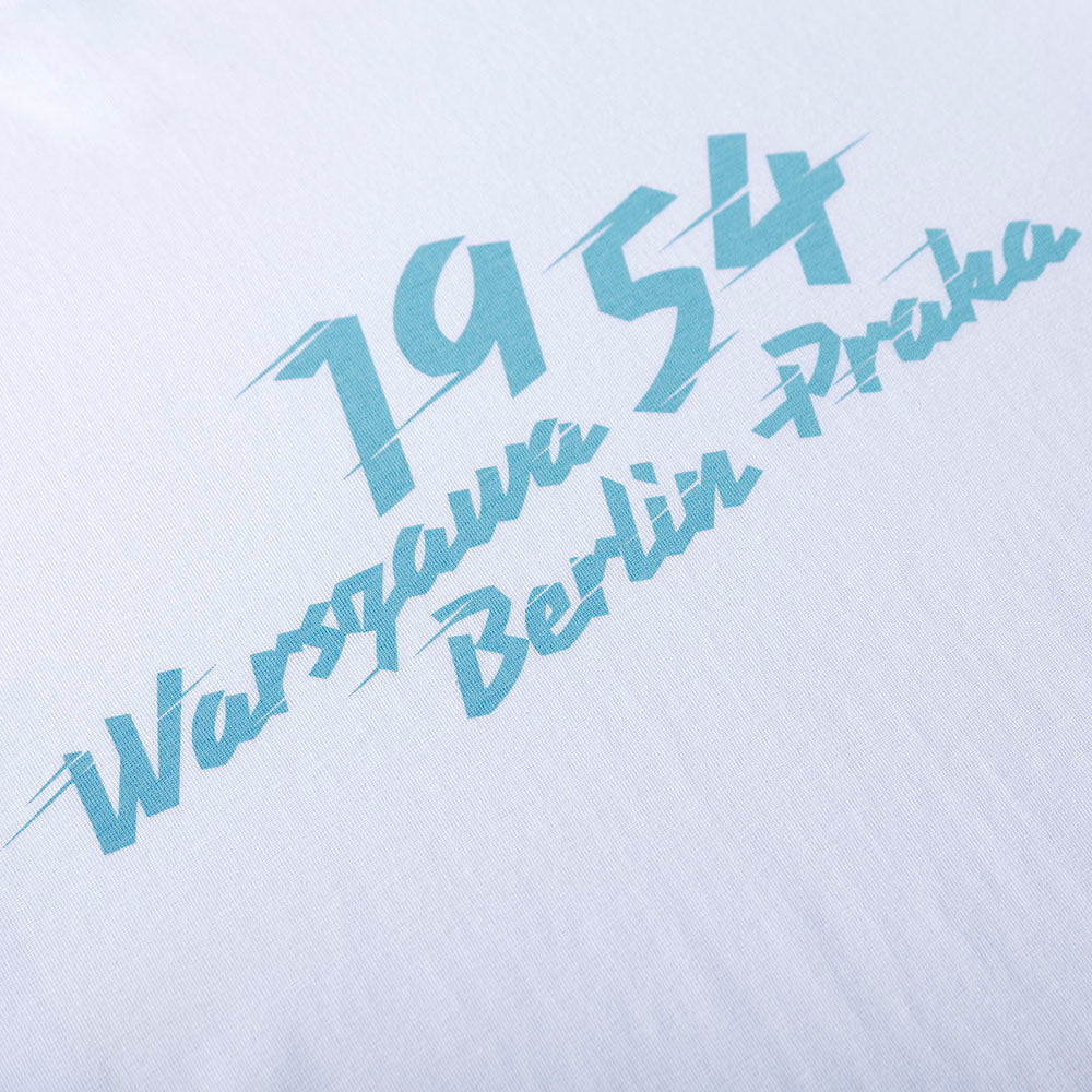 Peace Race 1954 Tee - White - Unisex