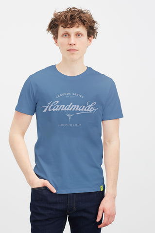 Legends Series: Campagnolo T-shirt [Mid Heather Blue]