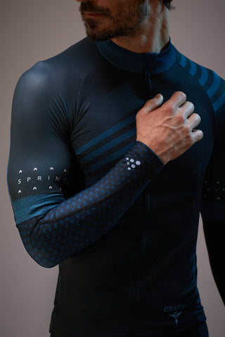 The Handmade Cyclist x Craft Sportswear • Men's 'Sprinteur' Arm Warmers