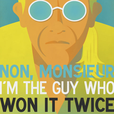 Icons Series 001: Laurent Fignon