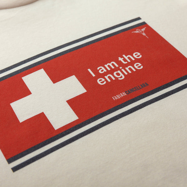 Quotes Tee: Fabian Cancellara [Vintage White]
