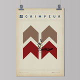 The Handmade Cyclists presents Spécialiste: Grimpeur art print
