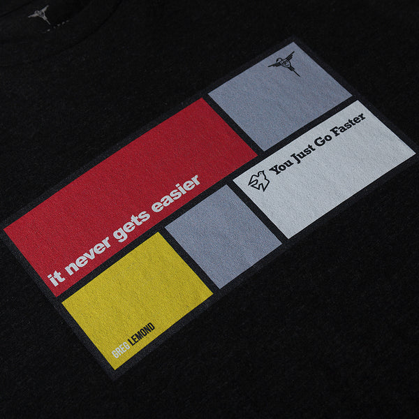 Quotes Tee: Greg Lemond [Black]