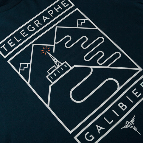 Telegraphe-Galibier T-Shirt - Dark Navy