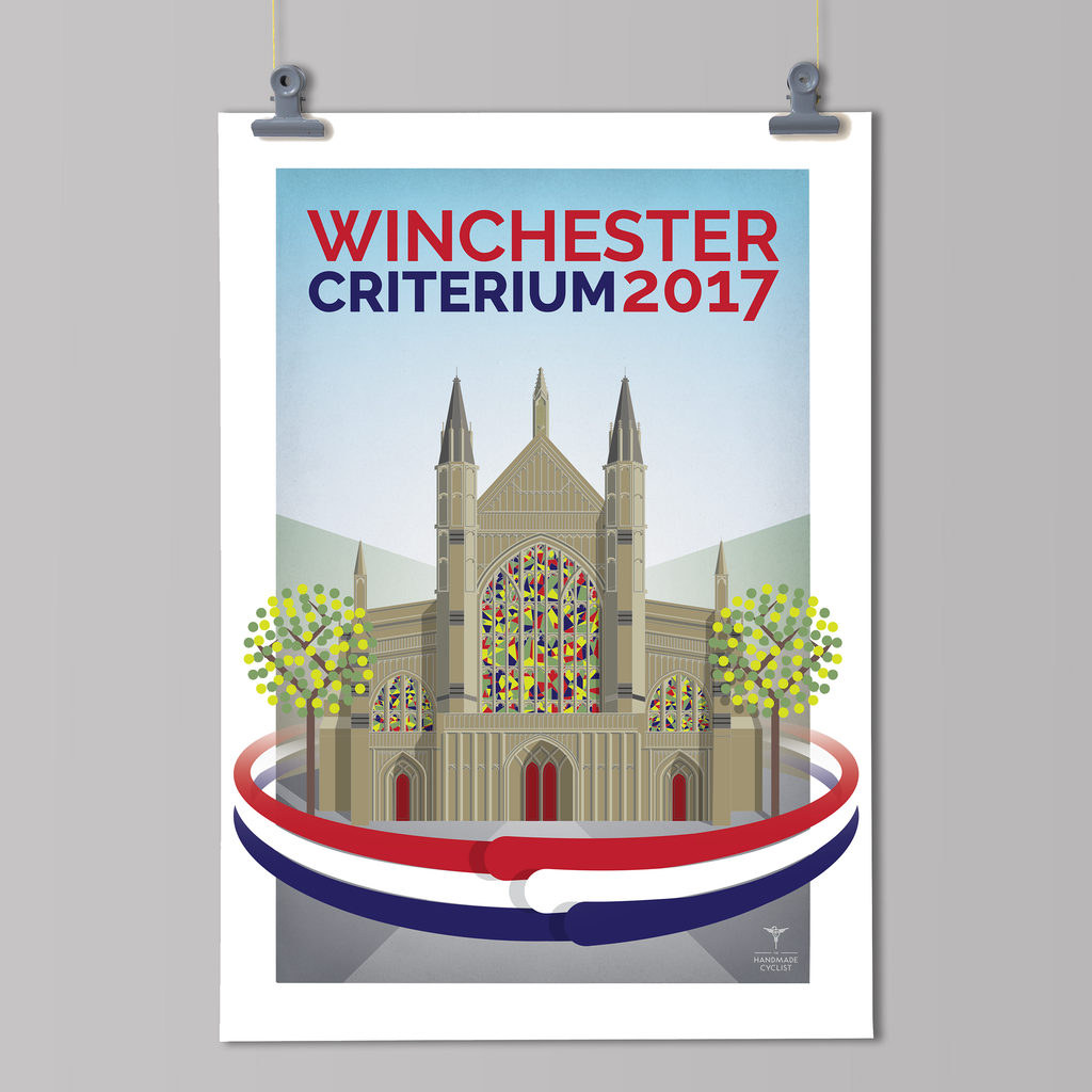 Winchester Criterium 2017 - Official Artwork