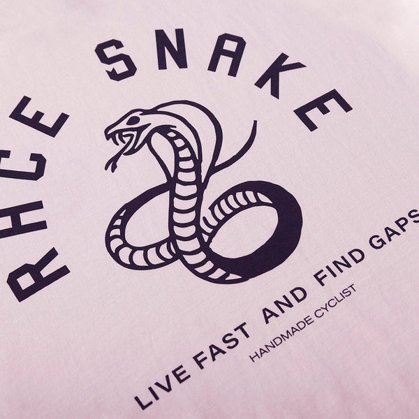 Race Snake Tee - Candy pink - Unisex
