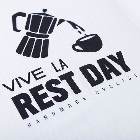 Vive La Rest Day Tee - White - Unisex