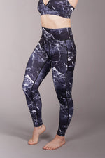 OFF THE POLE Iconic Leggings - Black Marble