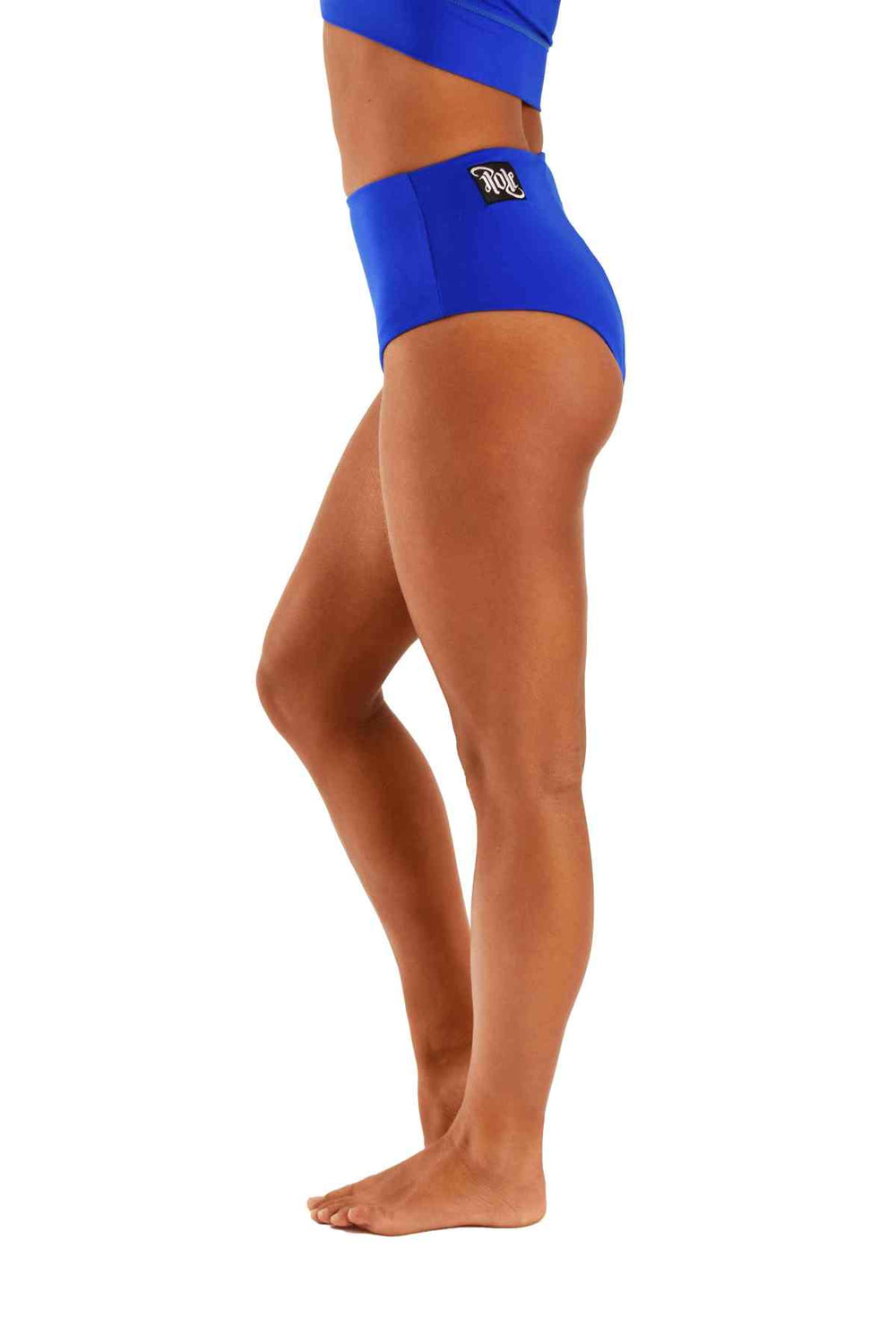 OFF THE POLE High Waisted Shorts - Royal Blue