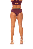 OFF THE POLE Classic Shorts - Burgundy