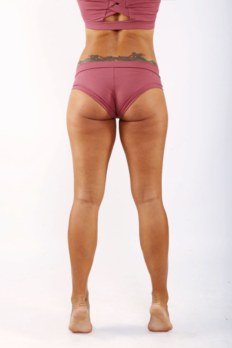 OFF THE POLE Classic Shorts - Dusty Pink