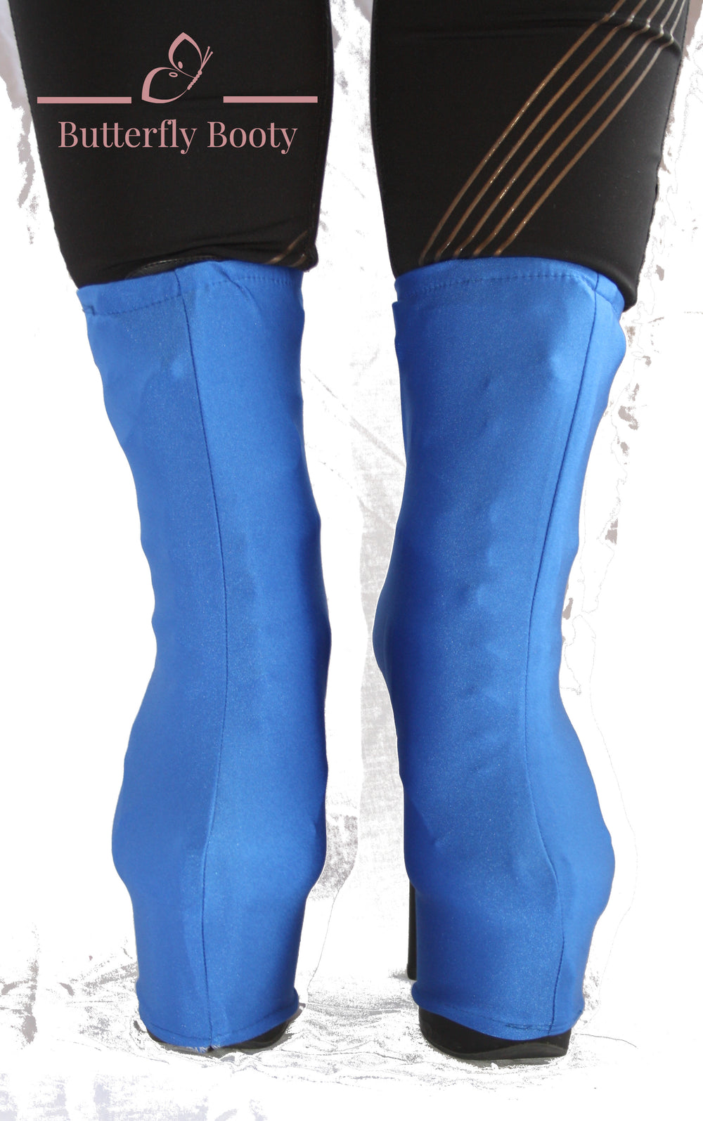 BUTTERFLY BOOTY Boot Covers - Blue
