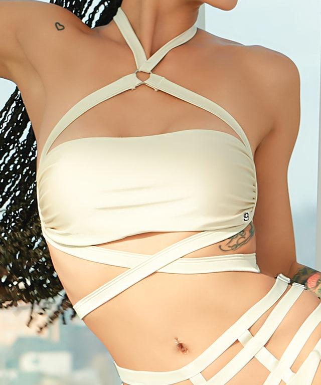 21G'S 2020 S/S Collection Top - Sand Beige