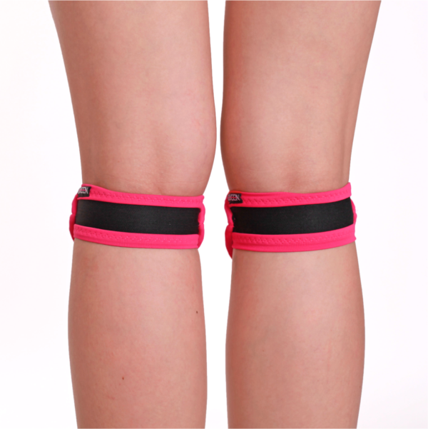 QUEEN Slides Mini Knee Pads - Pink Lips
