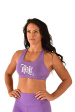 OFF THE POLE Signature Sports Bra - Purple