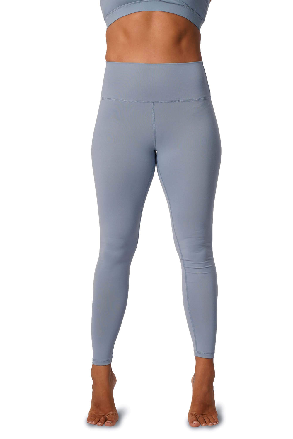 OFF THE POLE Scrunch Butt Leggings - Sky Blue