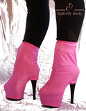 BUTTERFLY BOOTY Boot Covers - Pink