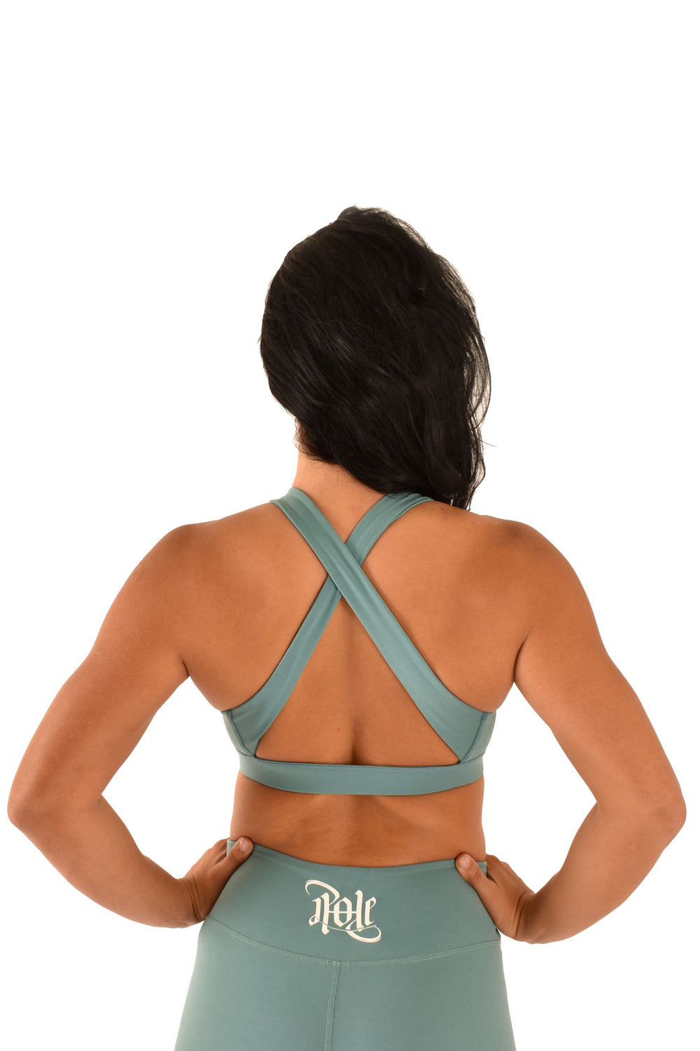 OFF THE POLE Signature Sports Bra - Teal