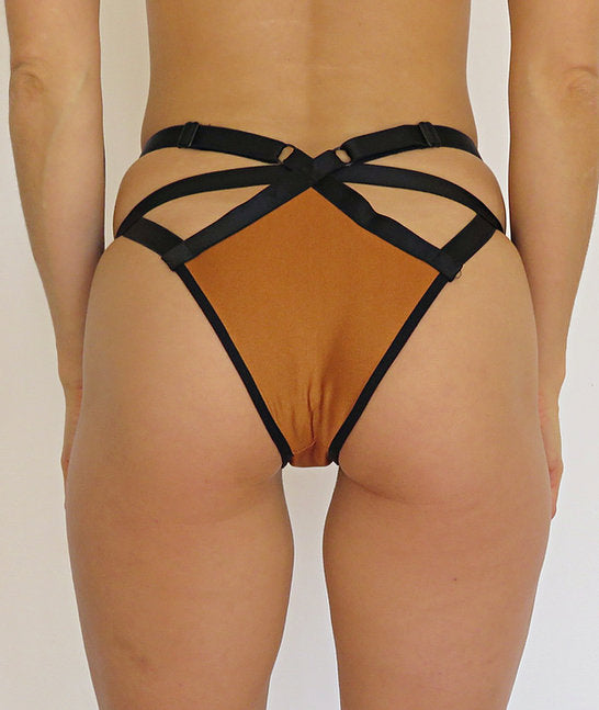 SORTE Alpinia Cheeky Shorts - Copper