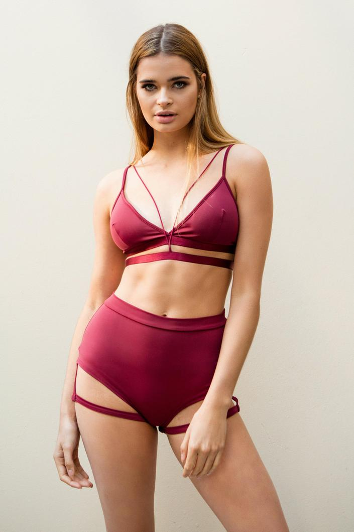 LUNALAE Bella Top - Wine