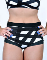BOOMKATS Martini High Waisted Shorts - Tape