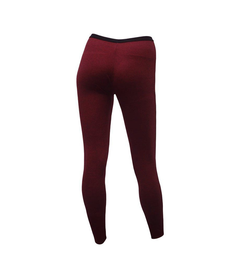 HAMADE High-Waisted Chaps - Wine