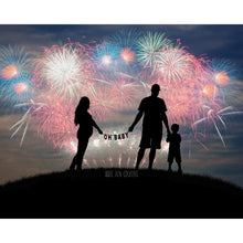 Load image into Gallery viewer, Firework Silhouette (Pick 1 of 12 Options)
