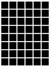 Load image into Gallery viewer, 48 box White Grid