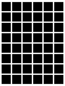48 box White Grid
