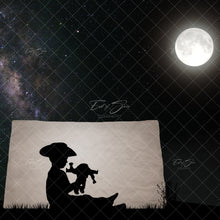 Load image into Gallery viewer, Tent Puppets Silhouette Template (6 Backgrounds)