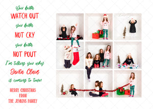 Better Not Cry - Christmas Card