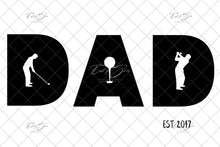 Load image into Gallery viewer, Father's Day DAD Themed Template (Pick 1 of 4 Designs)