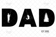 Load image into Gallery viewer, Father's Day DAD Themed Templates (4 Design Bundle)