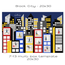 Load image into Gallery viewer, Block City Set of 2 Templates