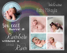 Load image into Gallery viewer, Rainbow Baby Template