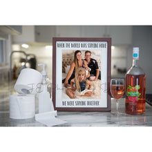 Load image into Gallery viewer, Quarantine Photo frame - Cheers to #stayhome