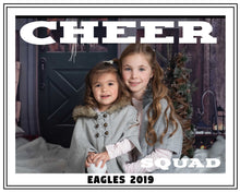 Load image into Gallery viewer, Cheer Squad Photo Template