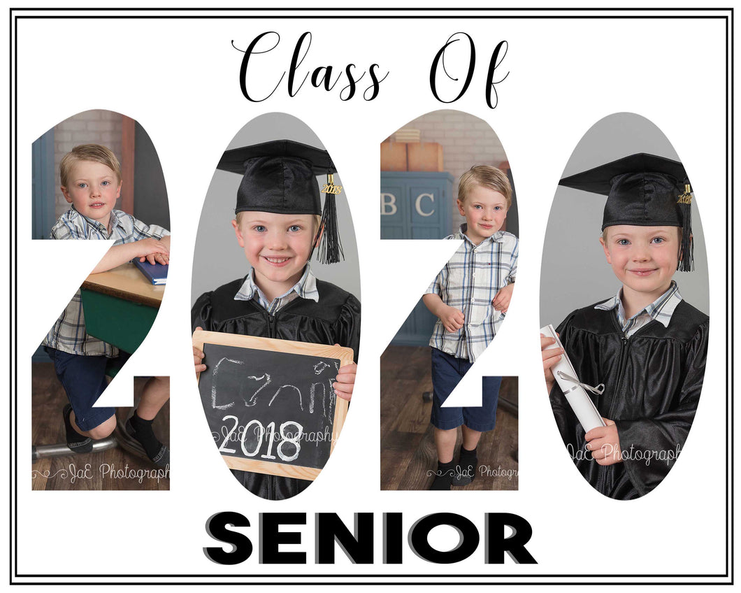Class of 2020 Graduates Photo Template