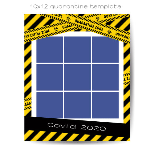 Quarantine 9 Box Template