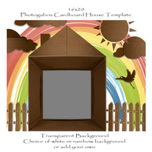Load image into Gallery viewer, Photogabox Box Cardboard House 1 Box - Before Renos 16x20