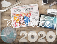Load image into Gallery viewer, Newspaper 2020 Covid-19 Template