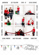 Load image into Gallery viewer, Covid-19 Christmas Card with Word Border