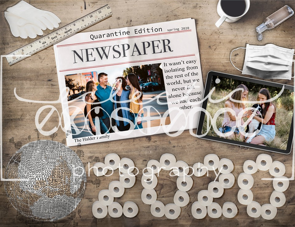 Newspaper 2020 Covid-19 Template