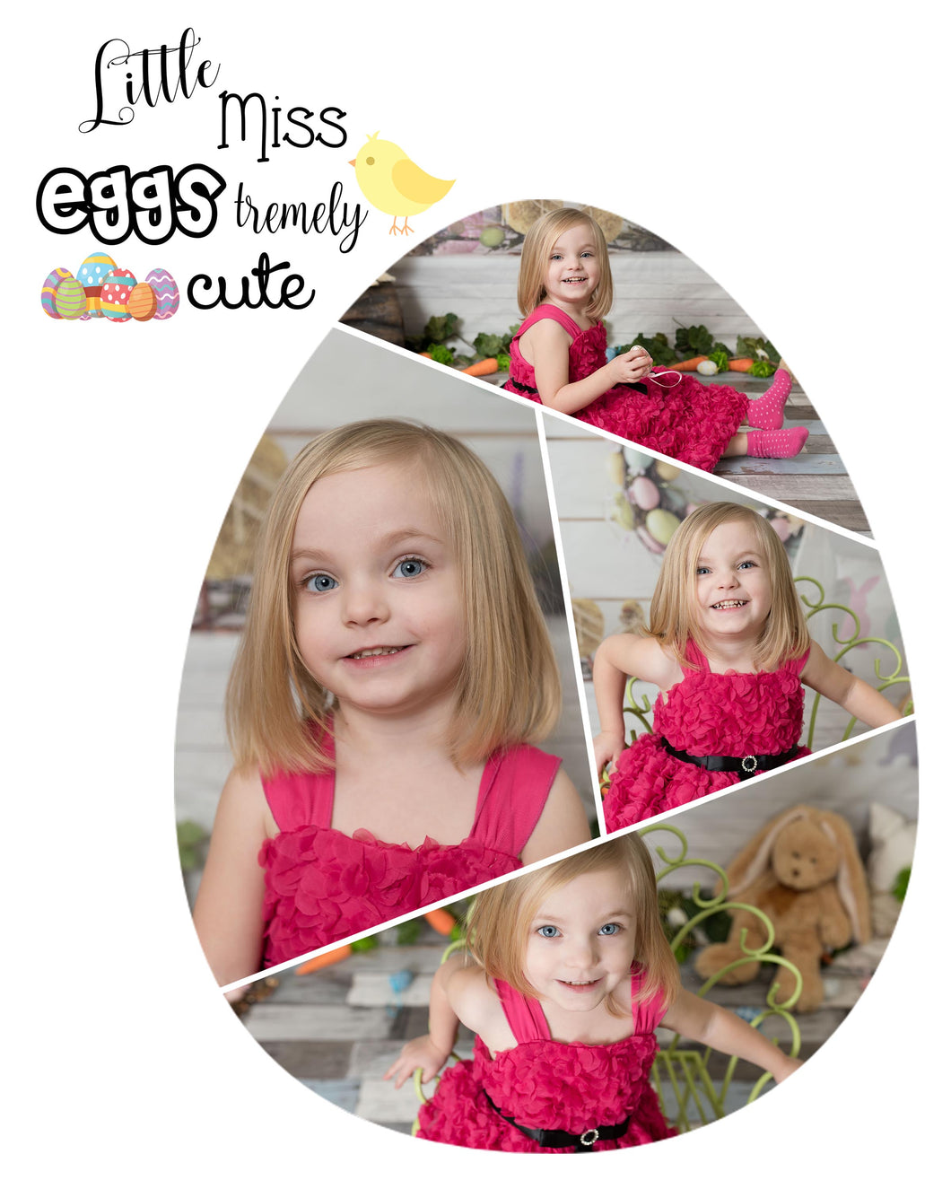Easter Egg Templates - Little Miss (mister) eggstremely cute (french version included)